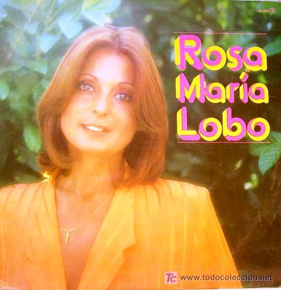 Rosa Maria Lobo Lp Zafiro 1981